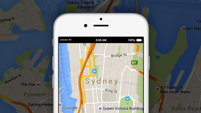 Google Maps lets you share your ETA via third-party apps