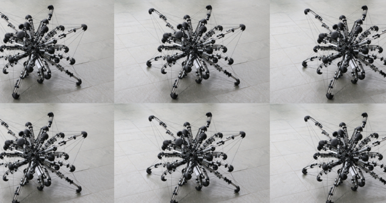 This Weird Robot Has 32 Legs and Is Shaped Like a Lumpy Sphere