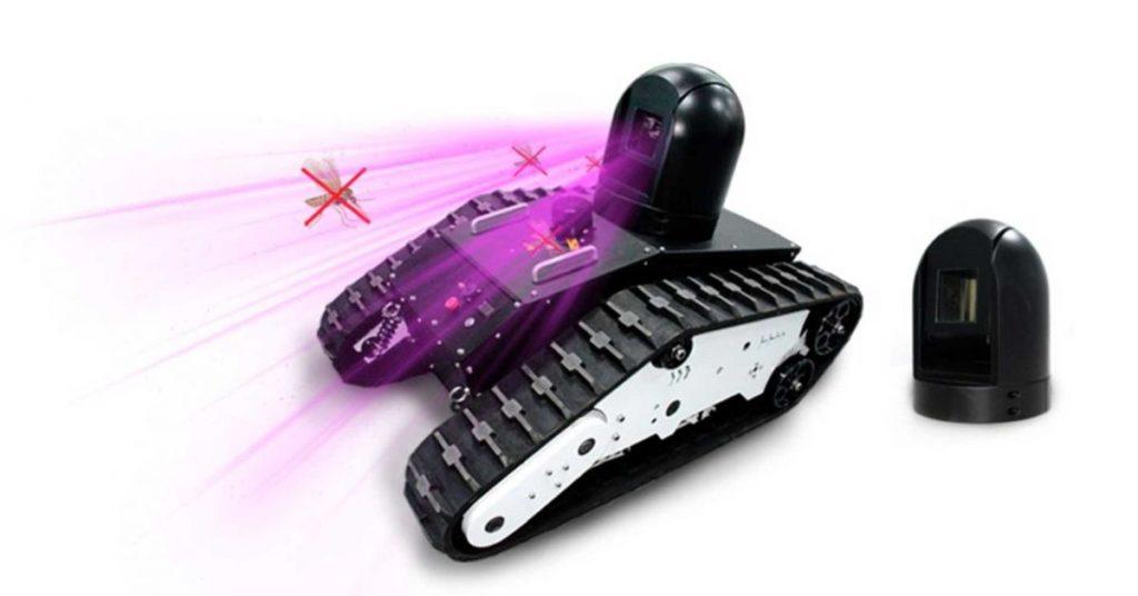 robot mosquitoes autonomous laser cannon 1200x628
