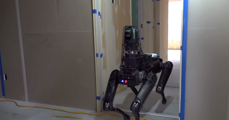 Watch Boston Dynamics' Lazy Robodog March Around a Construction Site Without Helping at All