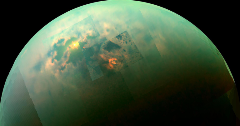 """Researchers Identify the """"Missing Link"""" in the Chemistry of Saturn's Largest Moon"""