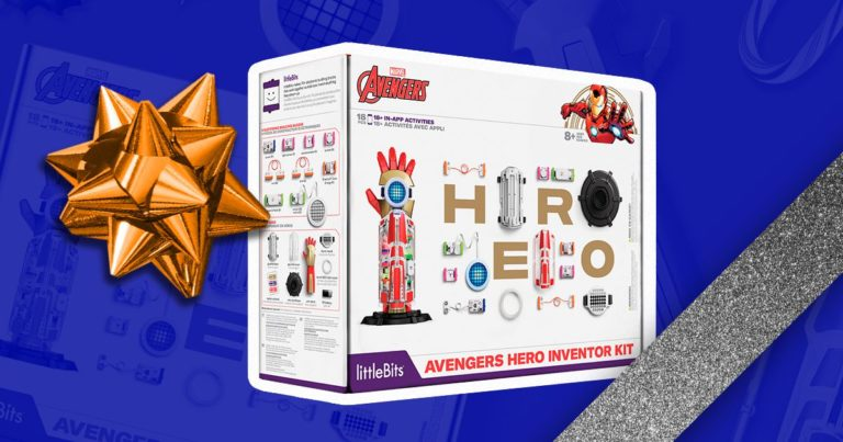 littleBits Superhero Kit: Teaching Kids Block-Based Coding