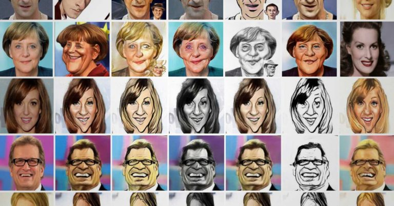 Check Out These Impressive Caricatures Drawn By AI
