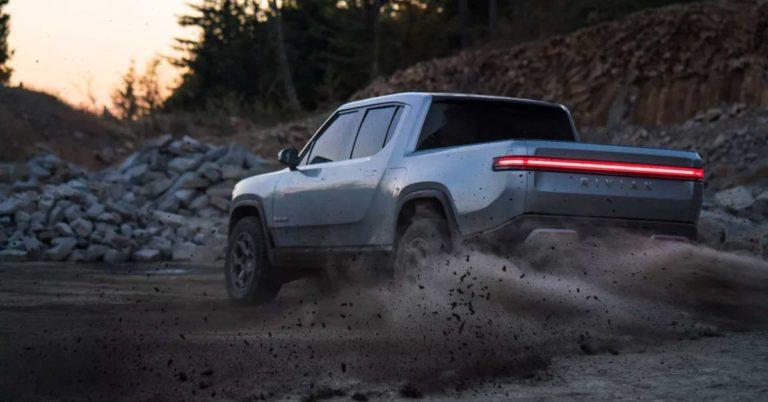 Rivian's Electric Truck Will Drop in 2020