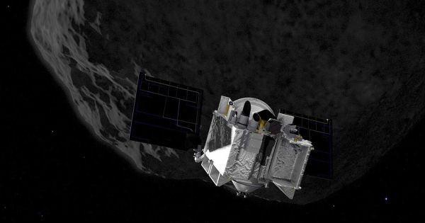 A NASA Probe Just Found Evidence of Water on a Distant Asteroid