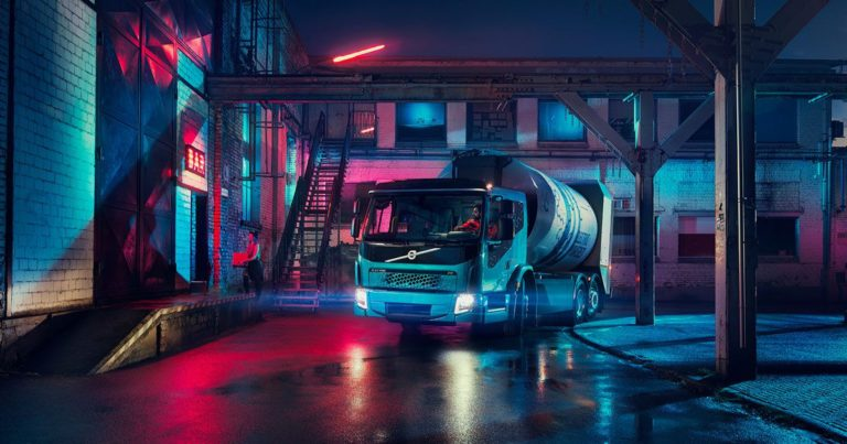Volvo's Electric Garbage Truck Is Its Answer to Tesla's Big Rig