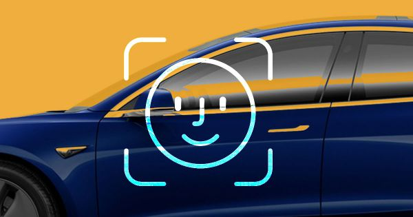 apple facial recognition car