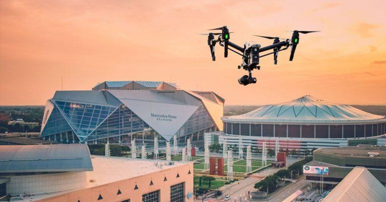 "The FAA Declared a ""No Drone Zone"" During the Super Bowl in Atlanta"