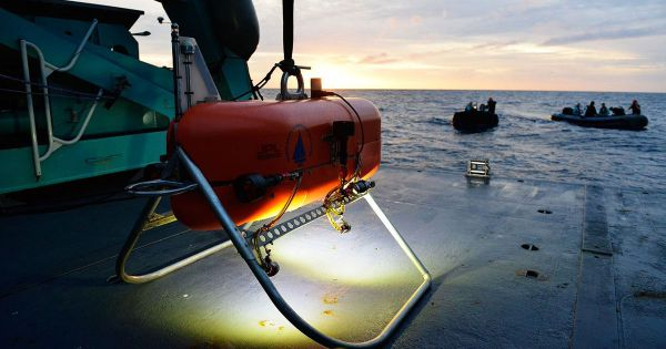 nasa whoi orpheus deep sea submarine