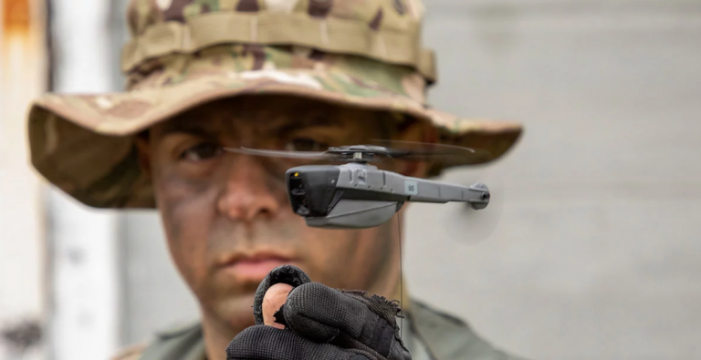 us army pocket sized recon drones