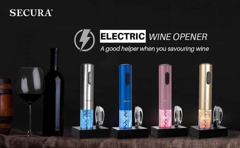 Secura Electric Wine Bottle Opener Review