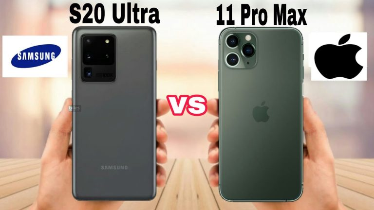 Samsung s20 Ultra vs iPhone 11 Pro Max (unbiased Comparison)