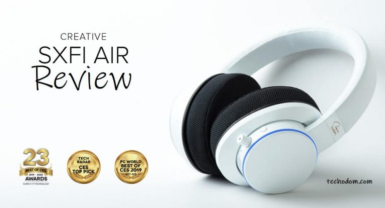 Creative SXFI Air Headphones Review [2021]